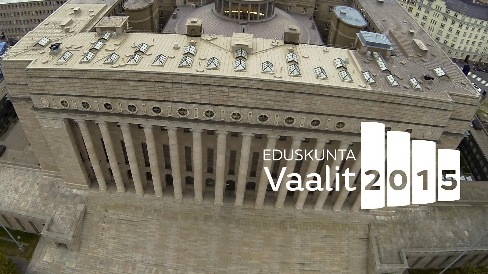 Kết quả bầu cử quốc hội Phần Lan 2015 – Eduskuntavaalien tulos 2015.
